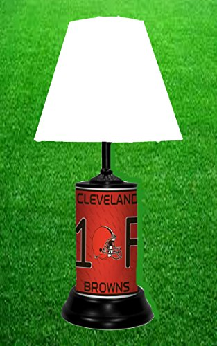 CLEVELAND BROWNS TABLE LAMP