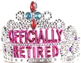 : Forum Novelties Officially Retired Retirement Party Tiara