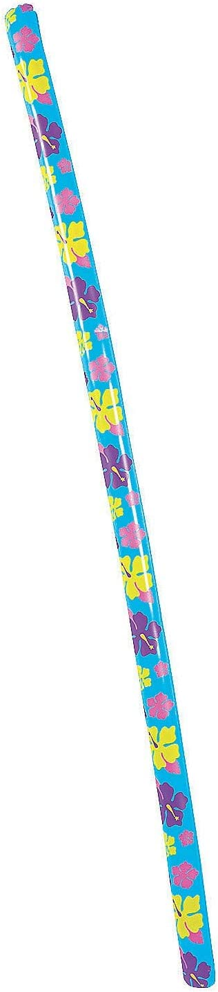 6 ft multi colored Fun Express 13834652 Inflatable Limbo Stick 1pc
