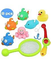 Juguetes de baño flotante con Juegos de pesca para niños