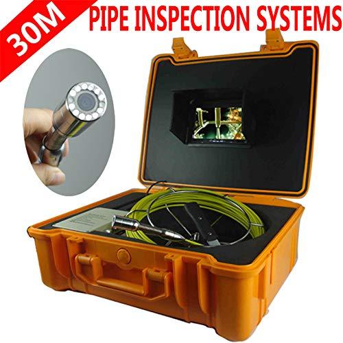 【 開梱 設置?無料 】 管の点検システム防水管/壁の下水道のヘビの点検カメラシステム7