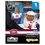 OYO HKYMONPS2 Limited Edition Mini Figure Montreal Canadiens P.K. Subban, Black, Small