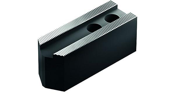 21 mm Groove Width Pack of 3 SCHUNK 0120156 Steel Soft Top Jaws 1//16 x 90 Degree 1//16 x 90 Degree 50 mm x 50 mm x 140 mm