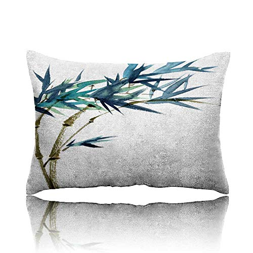 Travel Pillow Bamboo Watercolor illustration1 Memory Foam Pillow 13