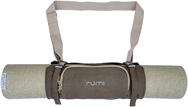 Amazon.com : Rumi - Natural Yoga Mat Carrier - Origami ...