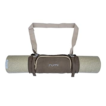 Amazon.com: Rumi – Esterilla de yoga naturales Carrier ...