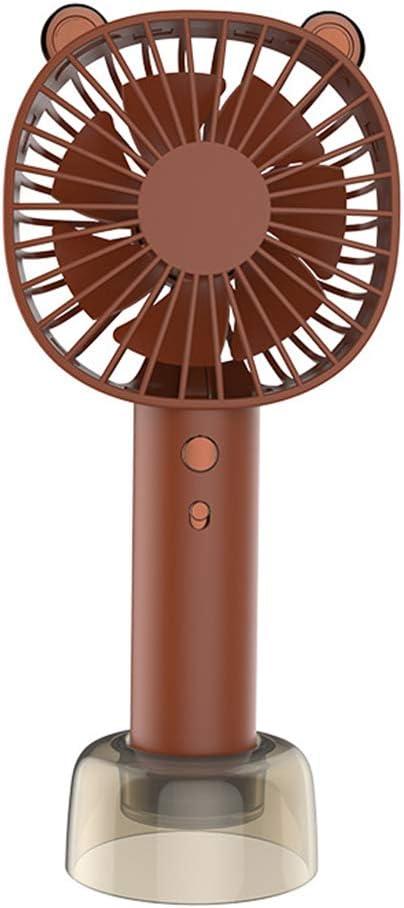 Ventilador frontal pequeño, portátil, con pilas, portátil y ...