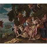 The high quality polyster Canvas of oil painting 'Giordano Luca Prision del condestable de Montmorency en la Batalla de San Quintin 1692 93 ' ,size: 10 x 34 inch / 25 x 86 cm ,this Beautiful Art Decorative Prints on Canvas is fit for Home Office decoration and Home gallery art and Gifts