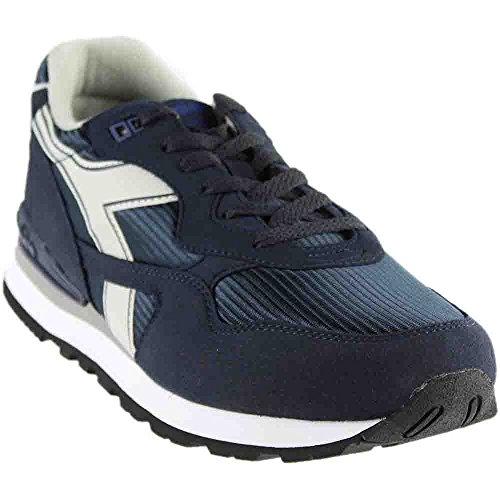 Diadora Men's N-92 Skate Shoe, Total Eclipse/Gray Violet, 8.5 M (Eclipse Oxford Shoes)