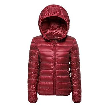 Amazon.com: Dotoo - Chaqueta de invierno para mujer, con ...