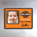 Harley-Davidson Orange Magnet Photo Frame