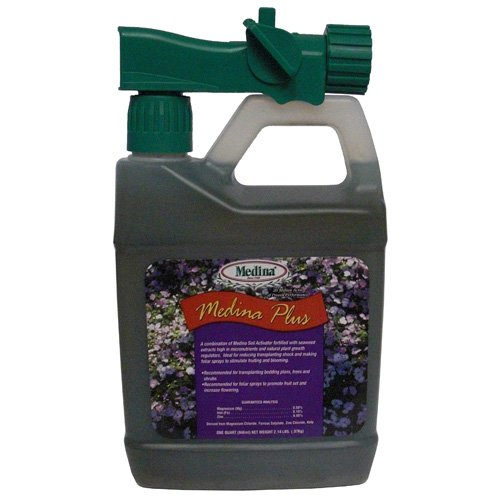 - Medina Plus Soil Activator 1000 Sq. Ft. Liquid Qt
