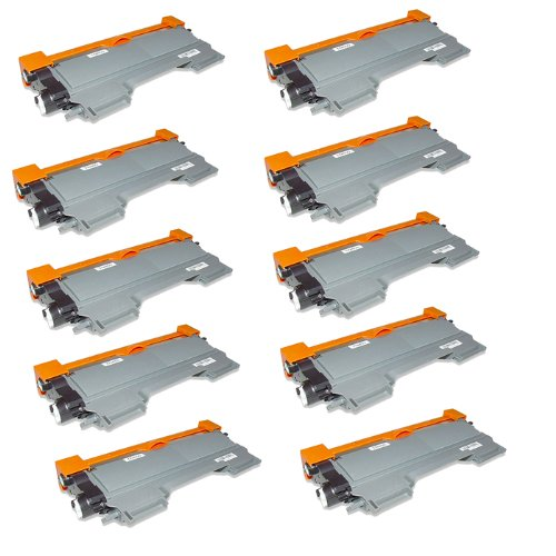 HI-VISION ® 10 Pack Compatible with Brother TN-450, TN450 High Yield Toner Cartridge Replacement HL-2240, HL-2230, HL-2270DW, HL-2220, HL-2240D, MFC-7860DW,HL-2280DW,DCP-7065DN,MFC-7240,IntelliFax-2840