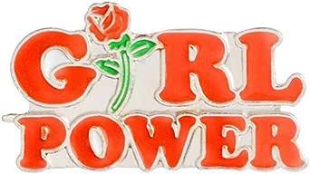 Shinmond 8 Styles Feminism Liberalism Hurray ! Women's Feminist Motivational Female Red Rose Girl Power Uterus I Do What I Want Enamel Brooch Pin