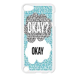 T-TGL(RQ) Print your own photo phone Case for Ipod Touch 5 cheap Okay Okay case