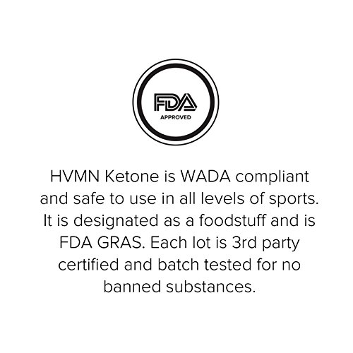 HVMN Ketone Ester - Exogenous Ketone Drink & Supplement For Endurance, Rapid Ketosis, Keto Diet, Fasting, Energy From Exogenous BHB - 12Count by HVMN (Image #6)