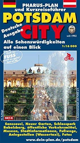 Pharus Plan Und Kurzreiseführer Potsdam City 1 16000  Alle Sehenswürdigkeiten Auf Einen Blick. Deutsche Ausgabe.