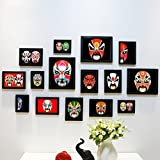 Home@Wall photo frame 15 PCS/Sets Home Decoration DIY Photo Frame Sets For Wall Family Picture Frame Sets With Picture Card ( Color : E )