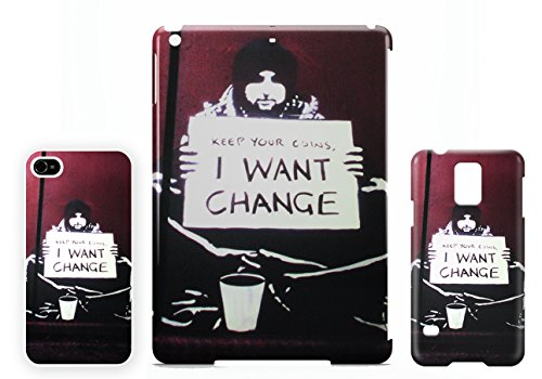 Banksy I want Change iPhone 5 / 5S cellulaire cas coque de téléphone cas, couverture de téléphone portable