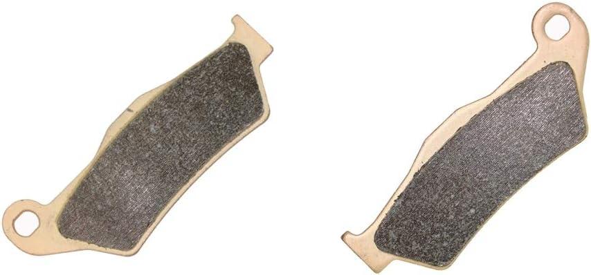 2 Pads Delantera Disco Pastillas de Freno Semi met/álico fit Dirt Bike EXC450 EXC 450 4T Six Days 11 12 13 14 15 2011 2012 2013 2014 2015 1 Pair