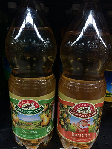 Chernogolovka Drink, Dushess and Buratino (Pack of 2) 2 L by Napitki iz Chernogolovki