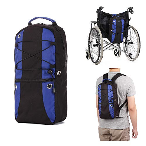 Oxygen Backpack Holder Portable Oxygen Tank Carrier Bag M6 / M9 Cylinders Bottle Pouch Fit Wheelchair, Knee Walker - Medical, Travel