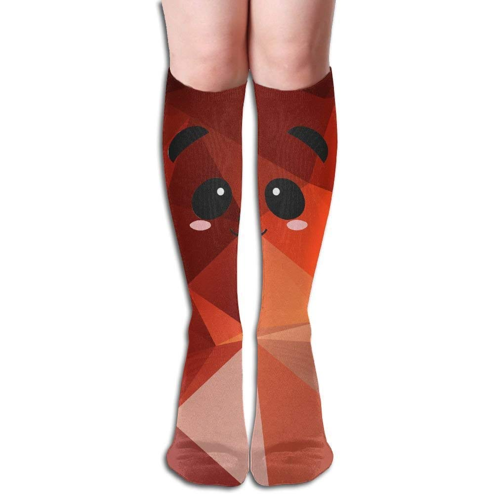 Compression Socks Cute Panda Unisex Full Socks Long Socks Knee High Socks Long 50cm)