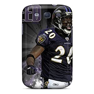 Marycase88 Samsung Galaxy S3 Shock Absorbent Cell-phone Hard Covers Provide Private Custom Stylish Baltimore Ravens Image [zjG10986Jtab]