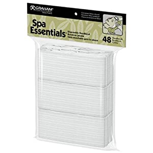 Graham Professional Products Spa Essentials Disposable Headbands, 48 Count