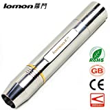 Portable LED Flashlight Yellow Waterproof CREE XPE Stainless SteeL Jewelry Jade Gem Testing Torch Jade Identification