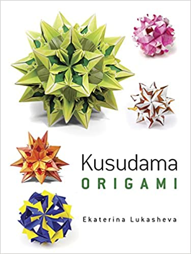 Amazon Dover Kusudama Origami Book Dover Books On Papercraft