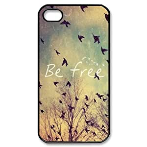 Be Free Personalized Custom Phone Case For iPhone 5s Hard Case Cover Skin