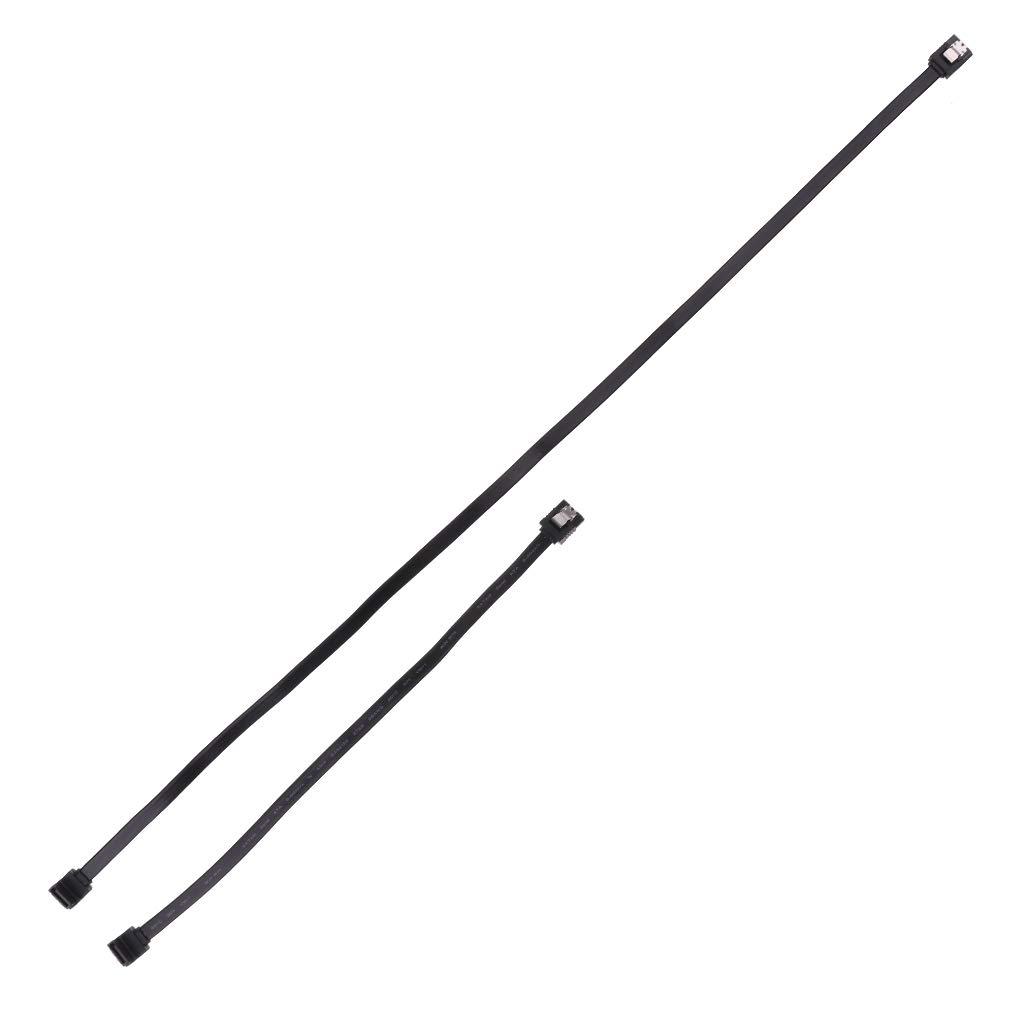 noir 610mm Shiwaki C/âble de Disque 26AWG Sata 32 Femelle /à 7 Broches avec Tous Appareils avec Connecteur SATA