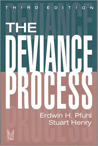 Book The Deviance Process (Social Problems and Social Issues) by Henry Stuart Pfuhl Erdwin H. (1993-12-31)