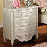 Victoria White Finish Youth Bedroom Night Stand