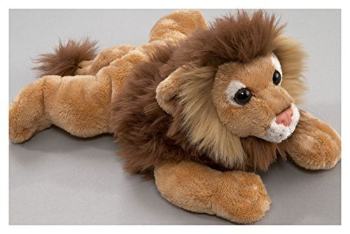 Carl Dick Lion Lying, 9.5 inches, 24cm, Plush Toy, Soft Toy, Stuffed Animal 1613003 -