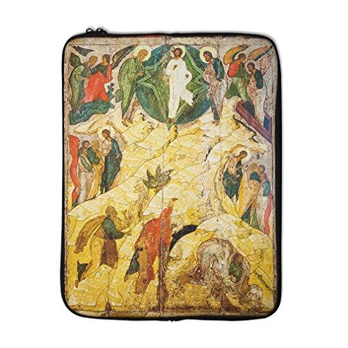 Russian Orthodox Icon Transfiguration Laptop Ipad Sleeve Case Bag 15