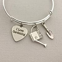 I love Gardening Bracelet Gift for Women Gardener