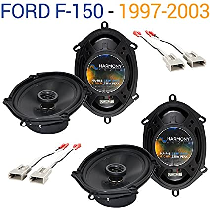amazon com: fits ford f-150 1997-2003 factory speaker replacement harmony  (2) r68 package new: car electronics