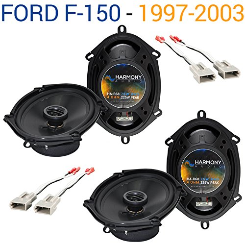 Fits Ford F-150 1997-2003 Factory Speaker Replacement Harmony (2) R68 Package New (Best Speakers For F150)