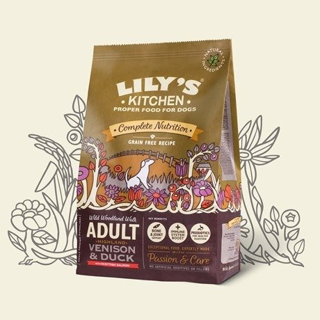 Lilys Kitchen Multi Dry (Venison)   Wet   Treat Pack- Pet Truck Ltd Exclusive