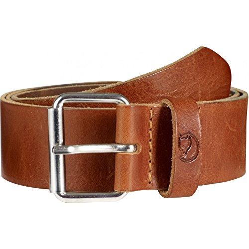 Fjallraven Sarek 4cm Belt, Leather Cognac, 85cm