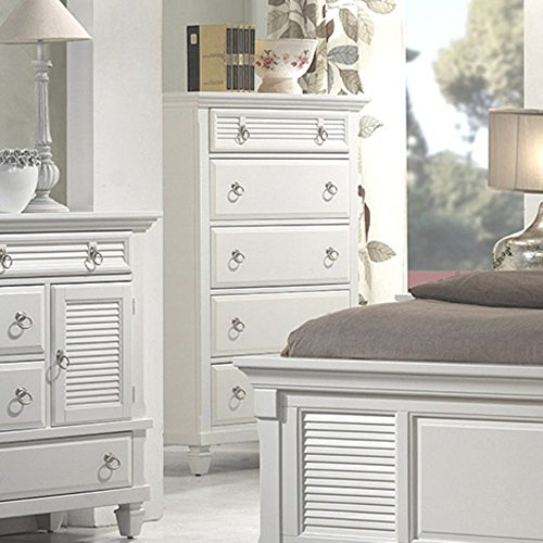 Alpine Furniture Winchester 5-Drawer Chest -