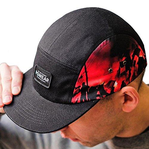 PG Wear - Gorra de béisbol - para hombre negro negro Talla única