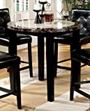 40 inch round dining table - Furniture of America CM3188PT-40 Atlas IV 40