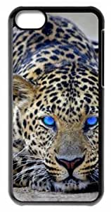 The eyes of the cheetah Durable Back Case Hard Covers For iphone 5cC