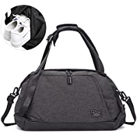 Lifeasy Gym Duffel Bag Travel Carry on Bags with Shoes Compartment Workout Sports Bag for Men and Women