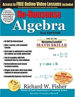 No nonsense algebra part of the mastering essential math skills no nonsense algebra 2nd edition part of the mastering essential math skills series fandeluxe Choice Image