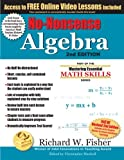 img - for No-Nonsense Algebra, 2nd Edition: Part of the Mastering Essential Math Skills Series book / textbook / text book