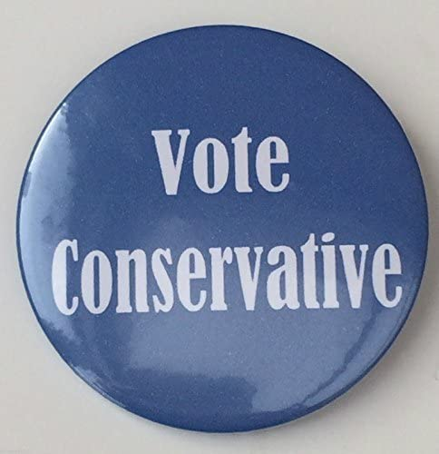 Partido político voto conservador campaña electoral 59 mm imán ...